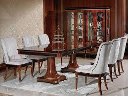 klassischer esstisch tisch holz esszimmer garnitur 4x stuhl stühle barock e68