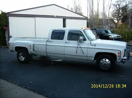 100 Dually Truck For Sale CLASSIC OLD SCHOOL SQUARE BODY CREW CAB 33 DUALLY BARNFINDSHOP