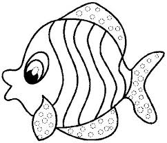 Fancy Coloring Book Fish