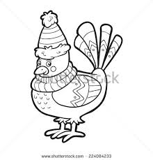 Winter Birds Coloring Pages Cooloring