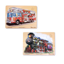Melissa & Doug Vehicles Sound Puzzles Set: Fire Truck And Train ... Sound Puzzles Upc 0072076814 Mickey Fire Truck Station Set Upcitemdbcom Kelebihan Melissa Doug Around The Puzzle 736 On Sale And Trucks Ages Etsy 9 Pieces Multi 772003438 Chunky By 3721 Youtube Vehicles Soar Life Products Jigsaw In A Box Pinterest Small Knob Engine Single Replacement Piece Wooden Vehicle Around The Fire Station Sound Puzzle Fdny Shop