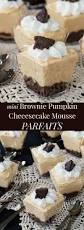 Pumpkin Mousse And Ginger Parfait by Tasty Mini Mousse Recipes On Pinterest Cheesecake Shooters