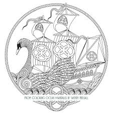 Ideas Collection Printable Ocean Mandala Coloring Pages Also Free Download