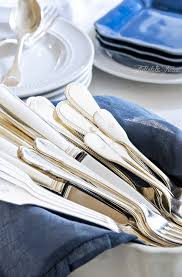 Gorgeous Flatware To Inspire! | TIDBITS&TWINE Storage Bins Pottery Barn Metal Canvas Food Gold Flatware Set Cbaarchcom Ikea Mobileflipinfo Setting A Christmas Table With Reindeer Plates Best 25 Rustic Flatware Ideas On Pinterest White Cutlery Set Caroline Silver20 Piece Service For The One With The Catalog And Winner Yellow Woodland Fall By Spode Fall Smakglad 20piece Ikea Ideas For Easter Brunch Fashionable Hostess
