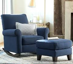 Pottery Barn Rocking Chair Impressive Glider Chair With Ottoman