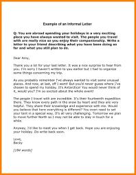 Letters Format Inspirationa Format Informal Letter In English