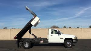 2002 Dodge Ram 3500 10' Flatbed Dump Truck - YouTube Awesome 2000 Ford F250 Flatbed Dump Truck Freightliner Flatbed Dump Truck For Sale 1238 Keven Moore Old Dump Truck Is Missing No More Thanks To Power Of 2002 Lvo Vhd 133254 1988 Mack Scissors Lift 2005 Gmc C8500 24 With Hendrickson Suspension Steeland Alinum Body Welding And Metal Fabrication Used Ford F650 In 91052 Used Trucks Fresno Ca Bodies For Sale Lucky Collector Car Auctions Lot 508 1950 Chevrolet