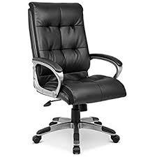 nilkamal veneto high back office chair black in home