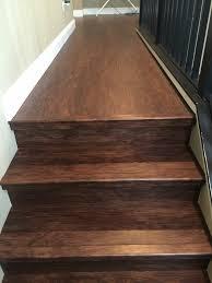Installing Pergo Laminate Flooring On Stairs by Lvp Stair Installation Waterproof Lifeproof Big Bens Flooring