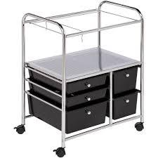 Locking Medicine Cabinet Walmart by Luxor Steel Adjustable Height Av Cart With Cabinet Walmart Com