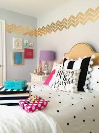 Raymour And Flanigan Bed Frames by Decorating A Teen Room For Christmas Black White Gold And Pink