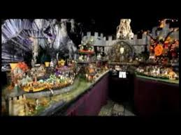 Dept 56 Halloween Village by Dept 56 Halloween Village Merloworld Halloween Haunt Dvd