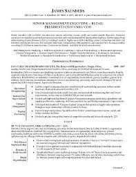 Resume Example For Retail Manager Duties