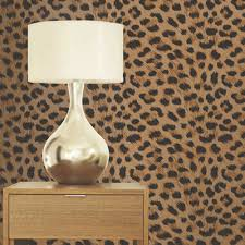 Cheetah Print Room Decor by Girls Chic Wallpaper Kids Bedroom Feature Wall Decor Various