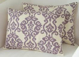 Lilac Purple Pillow Covers Set of Two 12x16 Inch Decorative Pillow