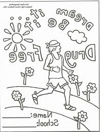 Red Ribbon Week Coloring Pages To Print