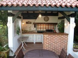 cuisine extérieure d été aménagement extérieur création d une cuisine d été à la cagne