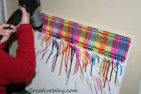 My Creative Way Melted Crayon Art With Kids Names TIPs To DIY