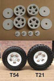 100 Resin Model Truck Parts 166798 1 24 18 Tdi Wheels M49 BUY IT NOW ONLY