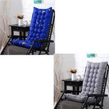 Rocking Deck Chair Thicken Sun Seat Pad Cushion | Shopee ...