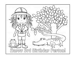 Safari Coloring Pages To Download And Print For Free Fresh
