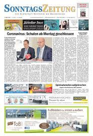 Lutz Kã Chenzeile Sonntagszeitung 2020 03 15 By Grafschafter Nachrichten Issuu