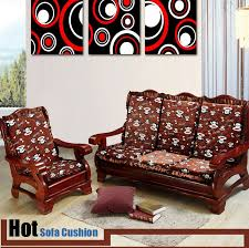 Wooden Sofas With Cushions Sofa Seat Okaycreations Single Bed