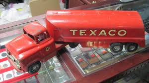 Toy Truck: Vintage Texaco Toy Truck Amazoncom Ertl 9385 1925 Kenworth Stake Truck Toys Games Texaco Cast Metal Red Tanker Truck By Ertl For Sale Antiquescom Vintage Toy Fuel Tractor Trailer 1854430236 Beyond The Infinity 1940 Ford Pickup With Lot Detail Two 2 Trucks Colctible Set Schrader Oil Vintage Buddy L Gas Pressed Steel Antique Tootsietoy 1915440621 Sold Diamond T 522 Livery Rhd Auctions 26 Andys Toybox Store 273350286110 1990 Edition 7 Stake Coin Bank Collectors Series 9 1961 Buddy