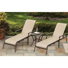 Stack Sling Patio Lounge Chair Tan by Hampton Bay Outdoor Chaise Lounges Patio Chairs The Home Depot