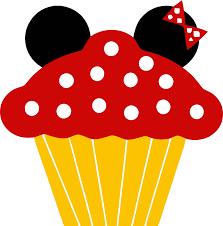 Minnie Cupcake Clipart