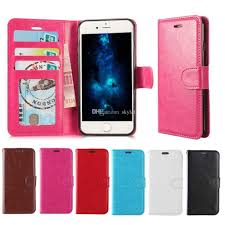For Iphone X Iphone 8 Plus Wallet Case For Note 8 PU Leather Cases