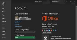 How to Turn on the Black Theme in Microsoft fice