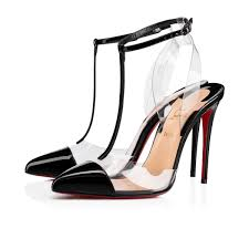 Christian Louboutin Slingback Patent Leather Sandals For Cheap