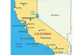 Californiamap Php California Map With Cities Capital Of