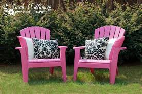 pink adirondack chairs are super cheap and you can get them