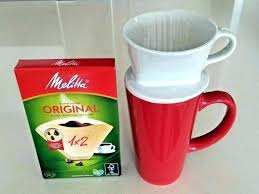 Melitta Single Cup Pour Over Coffee Maker And Ceramic White For 1 2 Cups Includes Filters Produce Inspiring