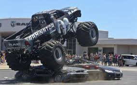 VIDEO: 'Raminator' Monster Truck Revs Up Crowd At Bob Brady Auto ... Monster Jam Hits Salinas Kion Truck Easily Runs Over Pile Of Junk Cars Bigfoot Stock Video Game Mud Challenge With Hot Wheels Truck Warning Drivers Ahead Trucks Visit Thornton Public The Maitland Mercury Video Raminator Monster Revs Up Crowd At Bob Brady Auto Crush It Nintendo Switch Games Destruction Police 3d For Kids Educational Destroyer Children Running Ripping Redcat Racings Landslide Xte Dennis Anderson Recovering After Scary Crash In The Grave Digger