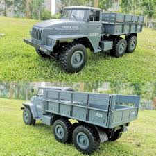100 Kids Electric Truck Detail Feedback Questions About 116 Soviet Ural Military Remote
