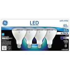 ge led 65w br30 soft white flood light 4 pk sam s club