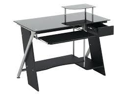 servante de bureau bureau avec plateau en verre servante de bureau avec plateaux en