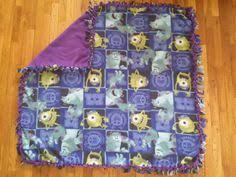 Monsters Inc Baby Bedding by Little Kid Toddler Minky Blanket Quilt Crib Bedding