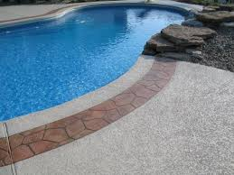 cool deck for pools pool deck st louis stone boarder st