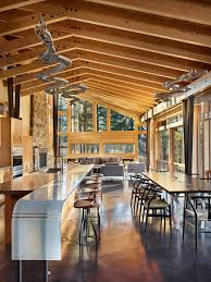 100 Exposed Joists Stylish Homes Contemporary Kitchen Features Exposed Joists