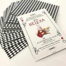 Invitacion 15 Años Carta Poker Alicia En El Pais Cumple X 80