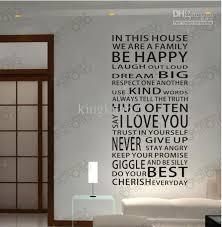 decorative words for walls words curtain wall stickers stylish wall stickers