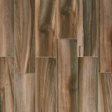marina walnut wood plank porcelain tile 6 x 24 100211069