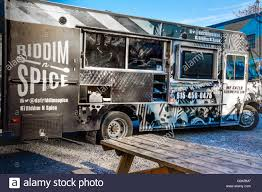 100 Food Trucks In Nashville The Riddim N Spice Food Truck Parked In The 5 Points District In