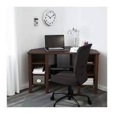 Micke Corner Desk Ikea Uk by Brusali Corner Desk Brown 120x73 Cm Ikea With Regard To Corner