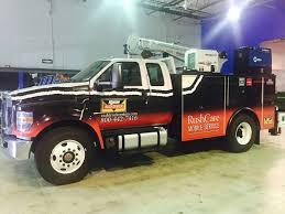 100 Rush Trucking Center Rushcarecommercialtruckwrap