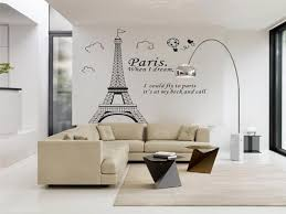 Bedroom Paris Decor Lovely Living Room Home Diy Eiffel Tower Decal